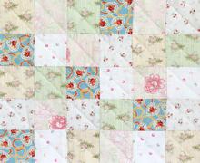 Patchwork Quilt pattern - stock photo