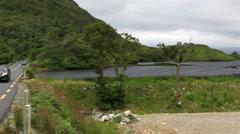 Beautiful National park Connemara Stock Footage