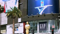Stock Video Footage of 4K, UHD, Oscar academy award nomination at Dolby Theater in Los Angeles