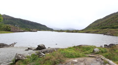 Beautiful Upper Lake in Killarney National Park Stock Footage