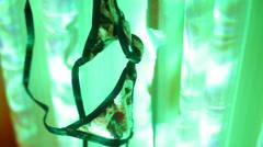 Bikini skinny dipping concept 2 Stock Footage
