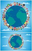 Unity Backgrounds - stock illustration