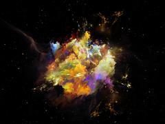 Astral Nebula Stock Illustration
