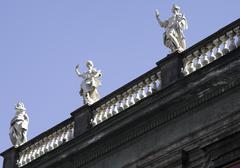 piazza Dante - stock photo