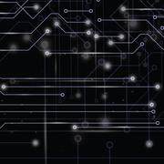 circuit board - stock illustration