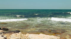 Beautiful View of seascape Stock Footage