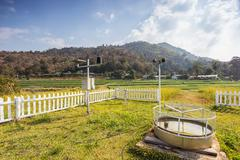 Weather Monitoring Stations Stock Photos