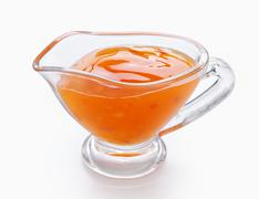 Sour-sweet sauce - stock photo