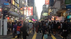 HONGKONG STREET Stock Footage