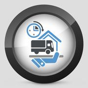 Express delivery Stock Illustration