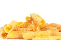 cheese potato chips - stock photo
