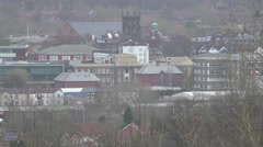 Stafford County Town view Stock Footage
