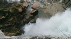 Waterfall Kinchha Stock Footage