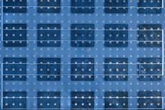 Solar Panel Texture - stock photo