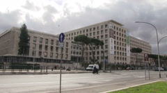 Italy - Rome - FAO Building Stock Footage