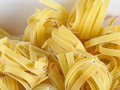 Linguine pasta - stock photo