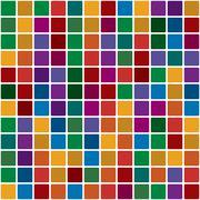 Stock Illustration of Polychromatic mosaic