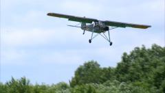 1937 Fieseler Fi 156 Storch Landing Stock Footage