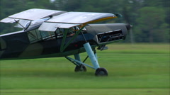 1937 Fieseler Fi 156 Storch Taxi Stock Footage