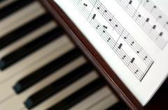Piano music notes Kuvituskuvat