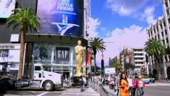Stock Video Footage of 4K, UHD,  Interview at Oscar academy award, Dolby Theater, Los Angeles