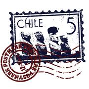 Vector illustration of isolated Chile icon Stock Illustration