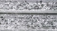 Waterscape construction decoration landscape - stock footage