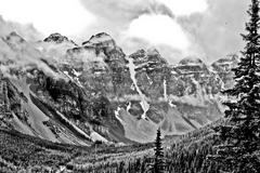 Canadian Rockies - stock photo