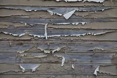 Flaking painted wood Stock Photos