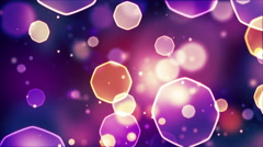 Abstract bokeh lights seamless loop 4k (4096x2304) Stock Footage