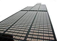 Willis Tower reaching for the sky Stock Photos