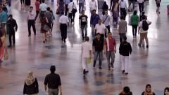 Commuters in KL Sentral, Kuala Lumpur Stock Footage