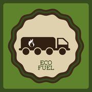 eco friendly design, vector illustration eps10 graphic - stock illustration