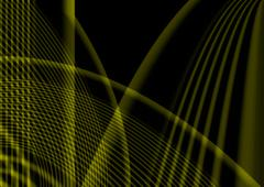 Movement of a grid - stock illustration
