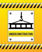 Stock Illustration of under construction design, vector illustration eps10 graphic