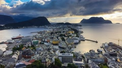 4k, Alesund, Norway Stock Footage