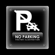 Stock Illustration of parking sign design, vector illustration eps10 graphic