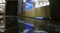 Chase bank entrance Stock Footage