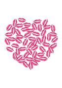 Love those lips Stock Illustration