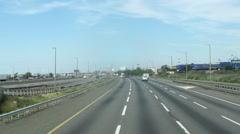 Traffic on the road in Philadelphia. Time lapse. Stock Footage