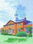 Manor house Stock Illustration