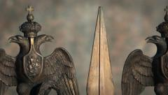 Double eagle guard Stock Footage