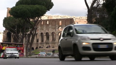 Italy - Rome - Coliseum Stock Footage