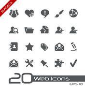 Blog and Internet // Basics Series - stock illustration