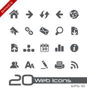 Web Navigation // Basics Series - stock illustration