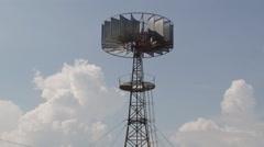 Stock Video Footage of wind generator