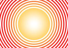 Sunny - stock illustration