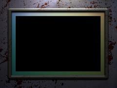 Top lit frame Stock Illustration