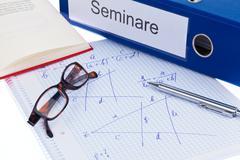 education, training, adult education - stock photo