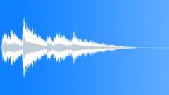 Magic descending long harp - sound effect